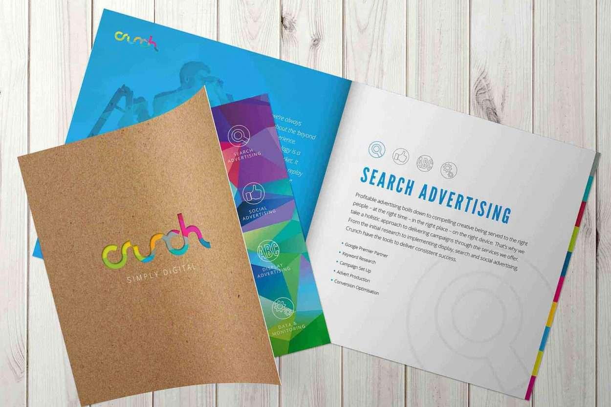 Crunch Corporate Brochure design
