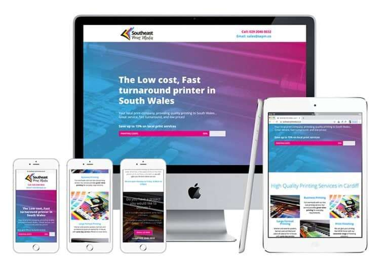 Southeast Print Management Web Site