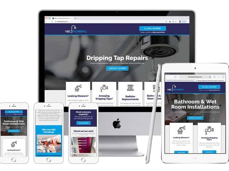 NBC Plumbing Web Site
