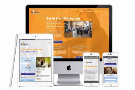 Optimise Personal Training Responsive web site