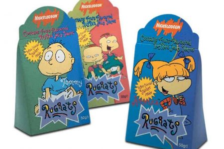 Rugrats Licensed Confectionery Packaging design