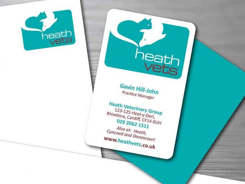 Heath Vets branding